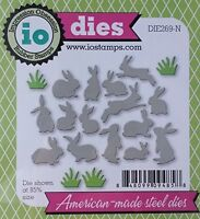 Mini Bunnies DIE-Impression Obsession (269N) suitable for most die cutters