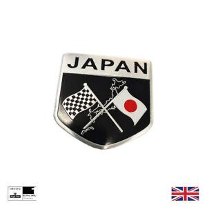Japan Racing Badge Emblem Badge Motorsport Honda Toyota Nissan Mazda
