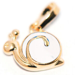 gold baby children little girls kids snail pendant jewelry for chain necklace