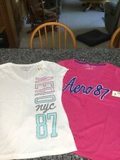 Women's/Junior's Aeropostale T-Shirts. Lot of 2 Shirts. Size XL. NWT