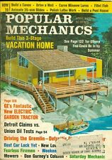 1970 Popular Mechanics Magazine: Build Vacation Home/Driving the Gremlin/GE