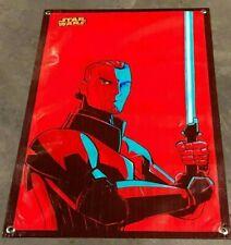 Star Wars canvas vinyl banner figure lightsaber Jedi poster movie comic book