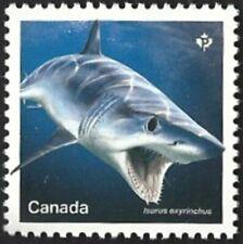 Canada # 3105a     SHARKS     Brand New 2018 Original Pristine Gum
