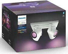 68326843 Philips Hue White & Col. Amb. Argenta 4er-Spot Strahler - Weiß