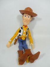 Disney Toy Story Talking Sheriff Woody Doll Figure Thinkway Toys RARE Hat Pixar