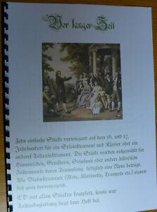 Noten+CD für Blockflöte, 10 Soli mit alter Musik vorw. 16/17. Jhrhd Flöte+Tasten