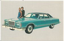 1975 Ford LTD Landau 4-Door Hardtop Automobile Advertising Postcard