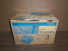 New Brother TD-4100N Thermal Desktop Label Printer w/ Network