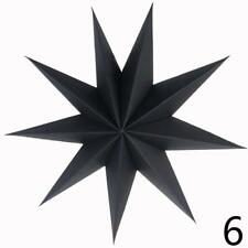 Nine Angles Paper Star Hanging Christmas Lantern Home Party Decoration Craft