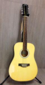 EKO Laredo 12 FL 12-string Acoustic Guitar - Natural Gloss FastLOK system by EKO