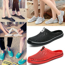 Summer Men Women Slippers Sandals Hollow-out Beach Shoes Breathable Water Shoes