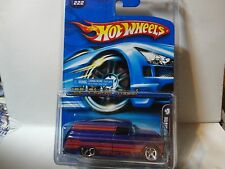 2006 Hot Wheels Mystery Car #222 Purple '55 Chevy Panel Truck w/Real Riders
