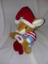 New listing Vintage Ganz Bros Brown Christmas Mouse Plush Stuffed Animal Toy Heritage
