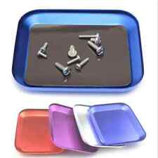 Aluminium Screw the Tray With Magnetic Pad for RC Model Cell Phone Repair New