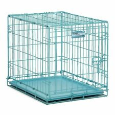 "Midwest Single Door Dog Crate - BLUE 24"" x 18"" x 19"""