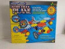 Aero Trax Plane - Techno Gears | Build a Plane, 80+ pieces | 8+yrs | Complete