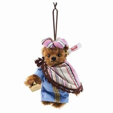 Steiff Balthasar Teddy Bear Ornament EAN 034077 Christmas Limited Edition New