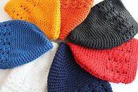 One Baby Toddler Girls Boys Crochet Knit Kufi Rasta Beanie Skull Beret Cap Hat