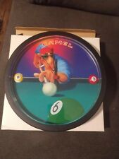 Camel Cigarettes Joe Camel Pool Player Wall Clock