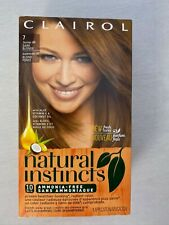Clairol Natural Instincts #7 Dark Blonde Formerly 9N Hair Color One Box New