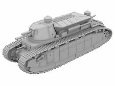 1/87 Char 2 C/FCM 2 C Tank [3D Imprimé Modèle]