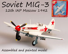 WW2 Mikoyan Gurevich MiG-3 Battle of Moscow 1942 1/72 finished plane Easy model