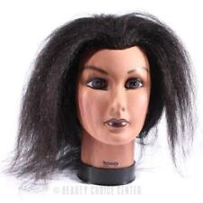 "Burmax Yolanda Afro Manikin 21"" - Brown Hair"