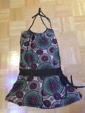 Kleid, grün, Hippie, Boho, Vintage, Sommerkleid, Strandkleid, Mandala Gr. 36-40