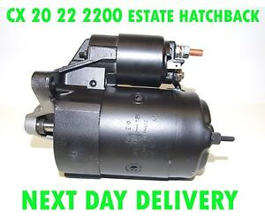Citroen CX mk2 2000 20 22 1979 1980 1981 - 1992 starter motor