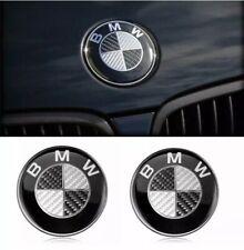 Audi Ringe Schriftzug Logo Emblem schwarz carbon 260 x 85 Vorne Ringlogo Front