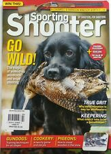 Sporting Shooter UK Feb 2017 Go Wild Gundogs Cookery Pigeons FREE SHIPPING sb