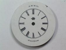 Antique American Waltham Watch Co. 6 Size Demi-Hunter Pocket Watch Dial  D-128