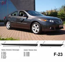 Seitenschutzleisten schwarz für Honda Accord VIII Limousine 8. Gen. 2008-2011