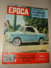 EPOCA=1957/363=BIANCHINA VESPA PIAGGIO 4 RUOTE=LIBERO LIBERATI=FRANCOISE SAGAN=