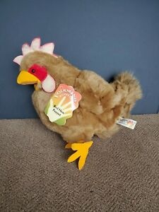 RARE Folkmanis Red Hen Puppet