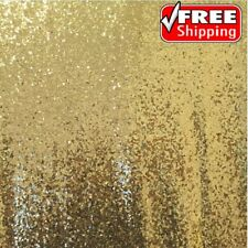 Light Gold Sequin Fabric, Glitters Sequins Fabric Fabric by the Yard -SQLG