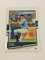 2020 Donruss Baseball Base Card - Tyler Glasnow - Tampa Bay Rays