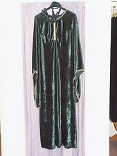 Women's Medievale Lady Marian abito verde UK 16 - 18 Costume (127)
