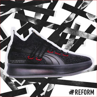 """🔥EXCLUSIVE PUMA X CLYDE COURT """"REFORM"""" EDITION in Triple Black & Red Colorway🔥"""