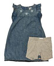 Hudson Kids! Girls 2pc Dress w/ Short Set Sapphire