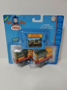 Thomas The Train - Take Along Iron 'Arry & Iron Bert 2006 Rare Authentic