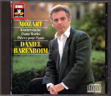 Daniel BARENBOIM: MOZART Fantasie K.397 Rondo 485 511 Adagio 540 Minuet Gigue CD
