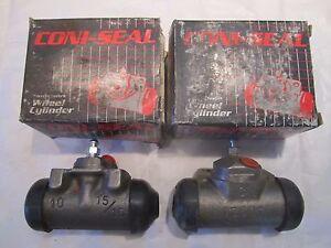 52-97 AMC Ford Mercury Rear Wheel Cylinder (2) Pair WC59240 WC59241