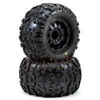 "Pro-Line Rock Rage 3.8"" Tire F-11 Black 1/2"" Offset 17mm E-Revo Summit #1199-13"