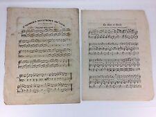 St. Patrick's Irish Dances Scottish Ballad Antique Piano Sheet Music Vtg 1800s