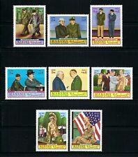 Manama 1970 Mi#403-10A  Dwight D. Eisenhower  MNH Set $5.50