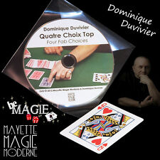 DUVIVIER - 4 choix Top + DVD  - Magie - Bicycle