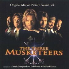 THE THREE MUSKETEERS (BOF) - KAMEN MICHAEL (CD)