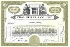 CHAS. PFIZER & CO INC......1953  STOCK CERTIFICATE