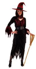 Wicked Witch adulti Sexy Lady Costume Di Halloween Festa si adatta x LGE HB GRATIS UK P + P